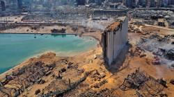 صور من الفضاء.. شاهد كيف تغيرت معالم بيروت