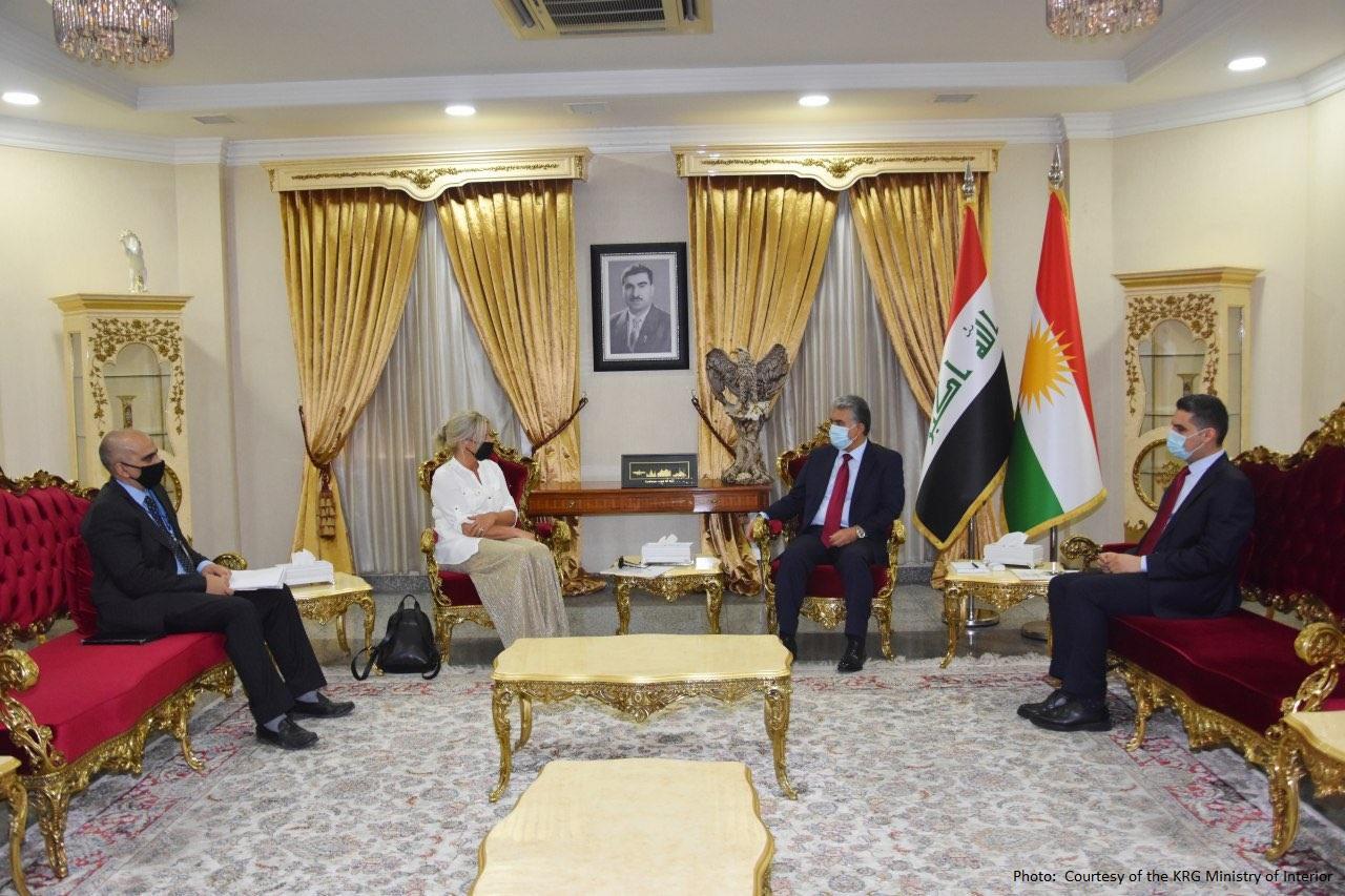 كوردستان والأمم المتحدة يبحثان أوضاع المتنازع عليها وملف بغداد-اربيل