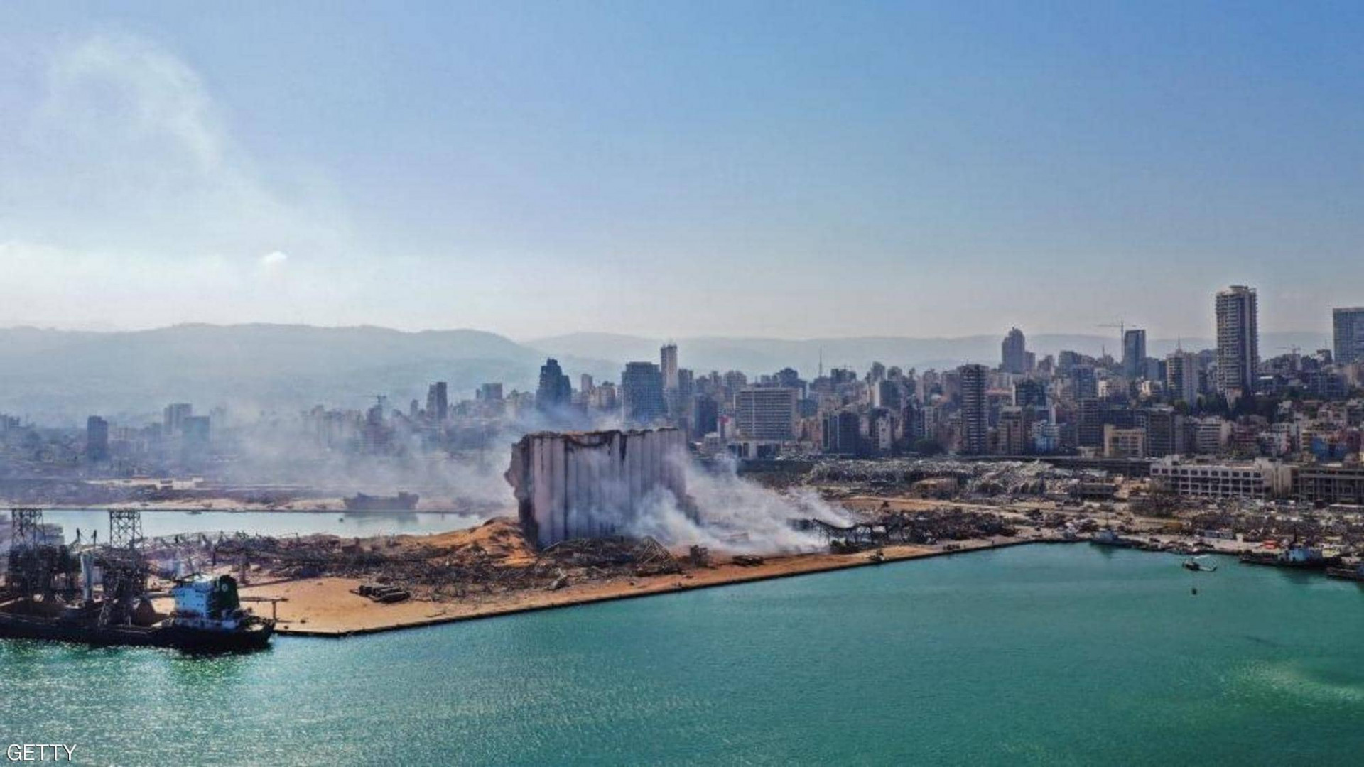 """صور من """"ناسا"""" تكشف حجم كارثة بيروت"""