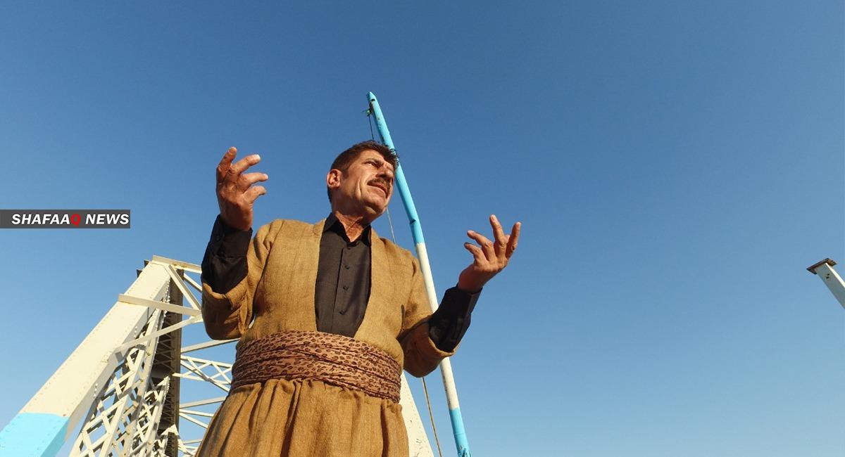 """بدعم """"شفق نيوز"""".. مطرب كوردي يصوّر أولى أغنياته"""