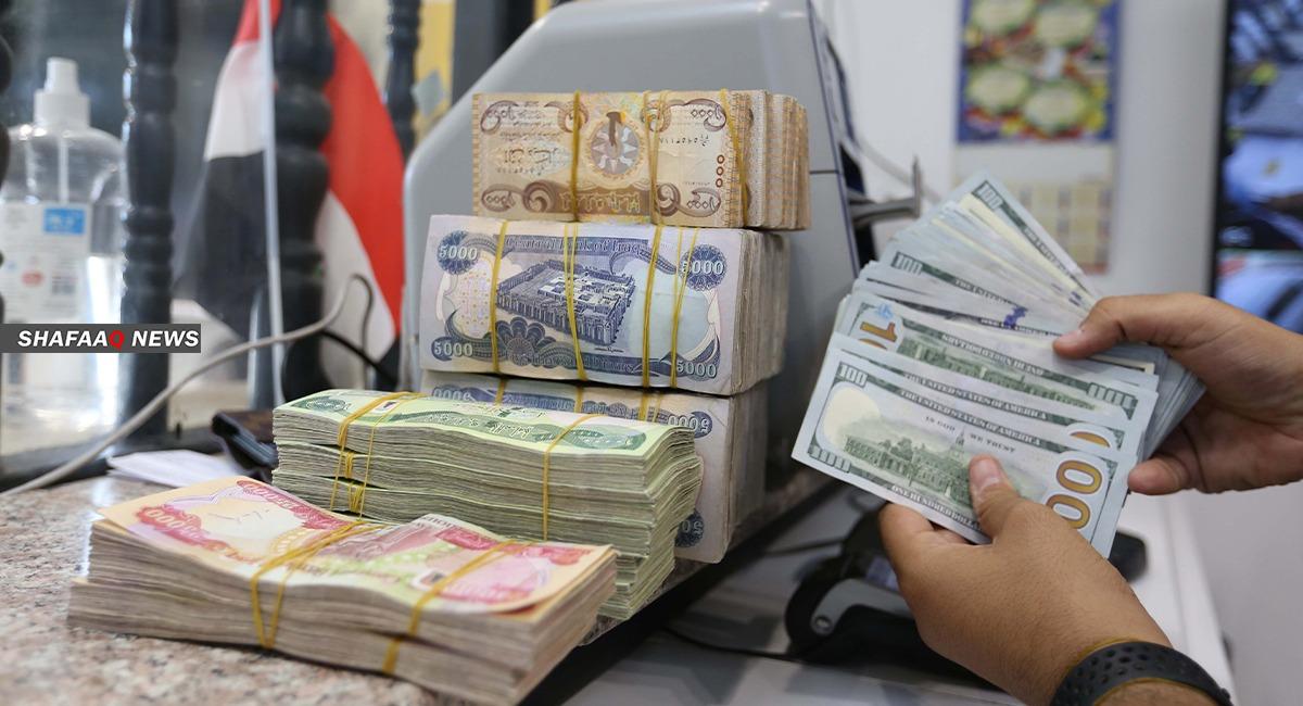 إنخفاض باسعار صرف الدولار في بغداد واستقراره في إقليم كوردستان