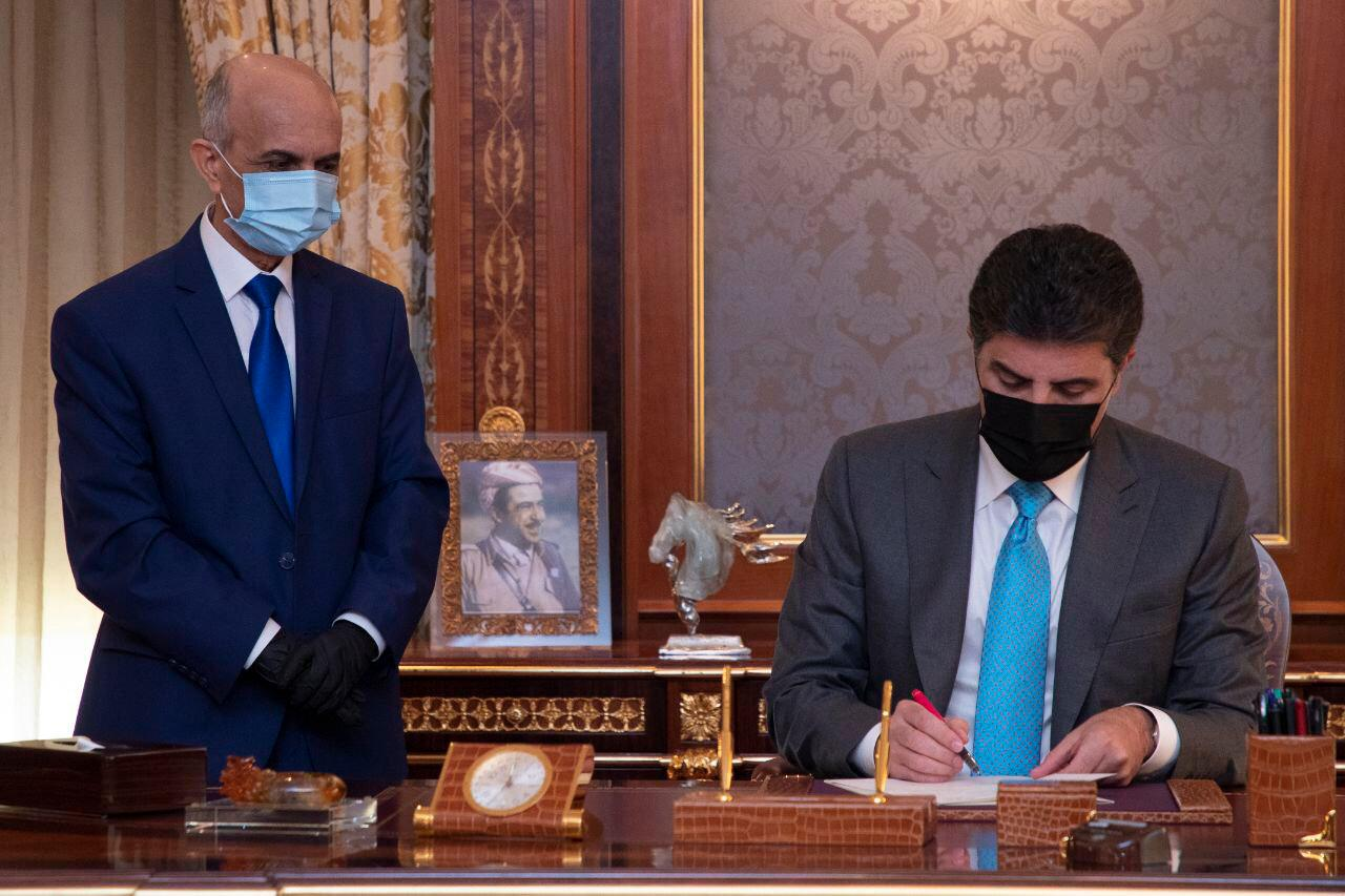 Nechirvan Barzani assigns a new head to the environment authority