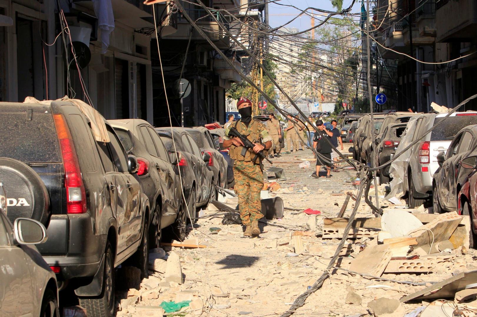واشنطن تشبه انفجار بيروت بما يحدث في العراق وتحمل طهران المسؤولية