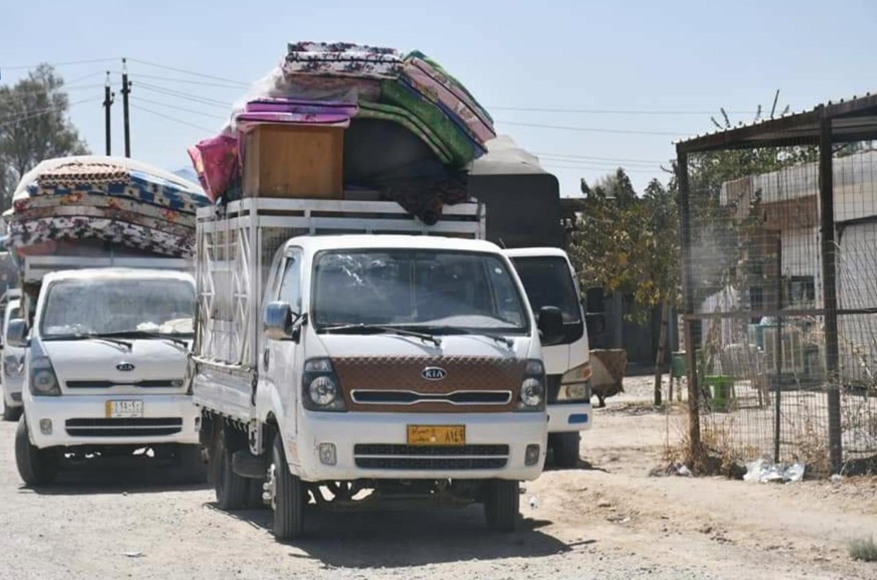 """15 قرية في """"سعدية ديالى"""" لم تغلق ملف النزوح حتى الان"""