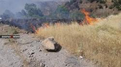 12 قذيفة مدفعية تركية تقصف مناطق حدودية في إقليم كوردستان