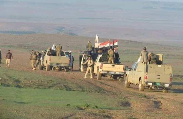 """صلاح الدين تؤشر انخفاضاً كبيراً لتسلل عناصر """"داعش"""" من الانبار"""
