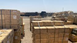 """التحالف الدولي يسلم """"أكبر"""" موقع لتخزين الذخيرة الى العراق"""