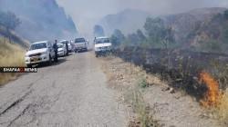 """الطائرات التركية تقصف معسكرات لـ""""PKK"""" شمال شرق دهوك"""