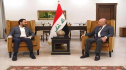 مشاكل بغداد واربيل على طاولة صالح والحلبوسي في السليمانية