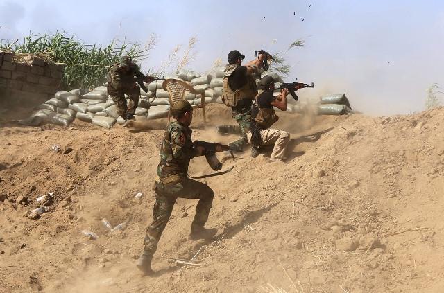 سقوط ضحية من الحشد بصد هجوم لداعش شمالي بابل