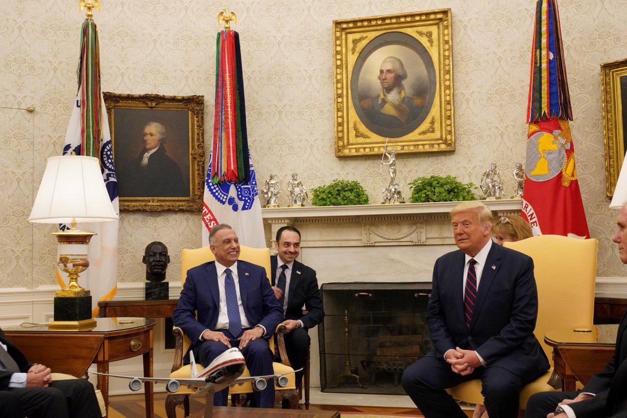 ترامب: قواتنا في العراق لمواجهة أي تحرك إيراني.. الكاظمي: لن نسمح بالتدخل التركي