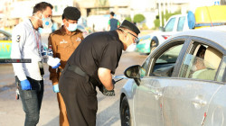 Seizing vehicles without license plates in Baghdad