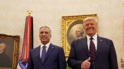 الكاظمي يختم زيارته الأولى لواشنطن ويعود لبغداد