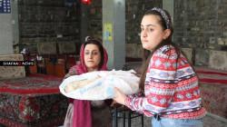 صور.. مائدة سيدة كوردية تجمع البغداديين والبصريين