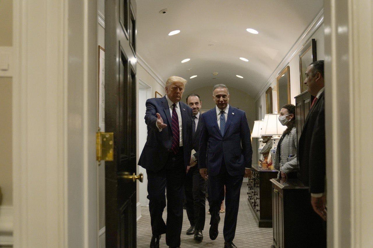بإجتماع مع كتل سياسية .. الكاظمي يقطع تعهدا بشأن التواجد الامريكي في العراق