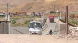 Faysh Khabur border crossing with Syria opened again