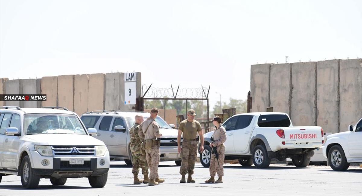 إصابة مقاتل بانفجار استهدف رتلاً للتحالف الدولي في صلاح الدين