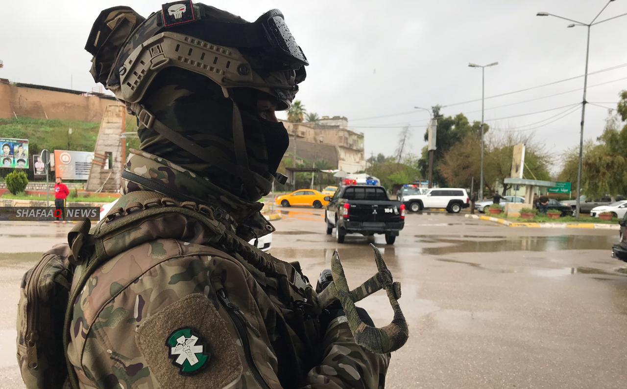 """الاطاحة بمخبر يزود """"داعش"""" بمعلومات عن القوات الامنية والبيشمركة في كركوك"""