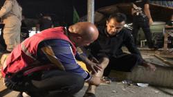بالصور.. جرحى في انفجار قرب تجمع للشيعة في كركوك