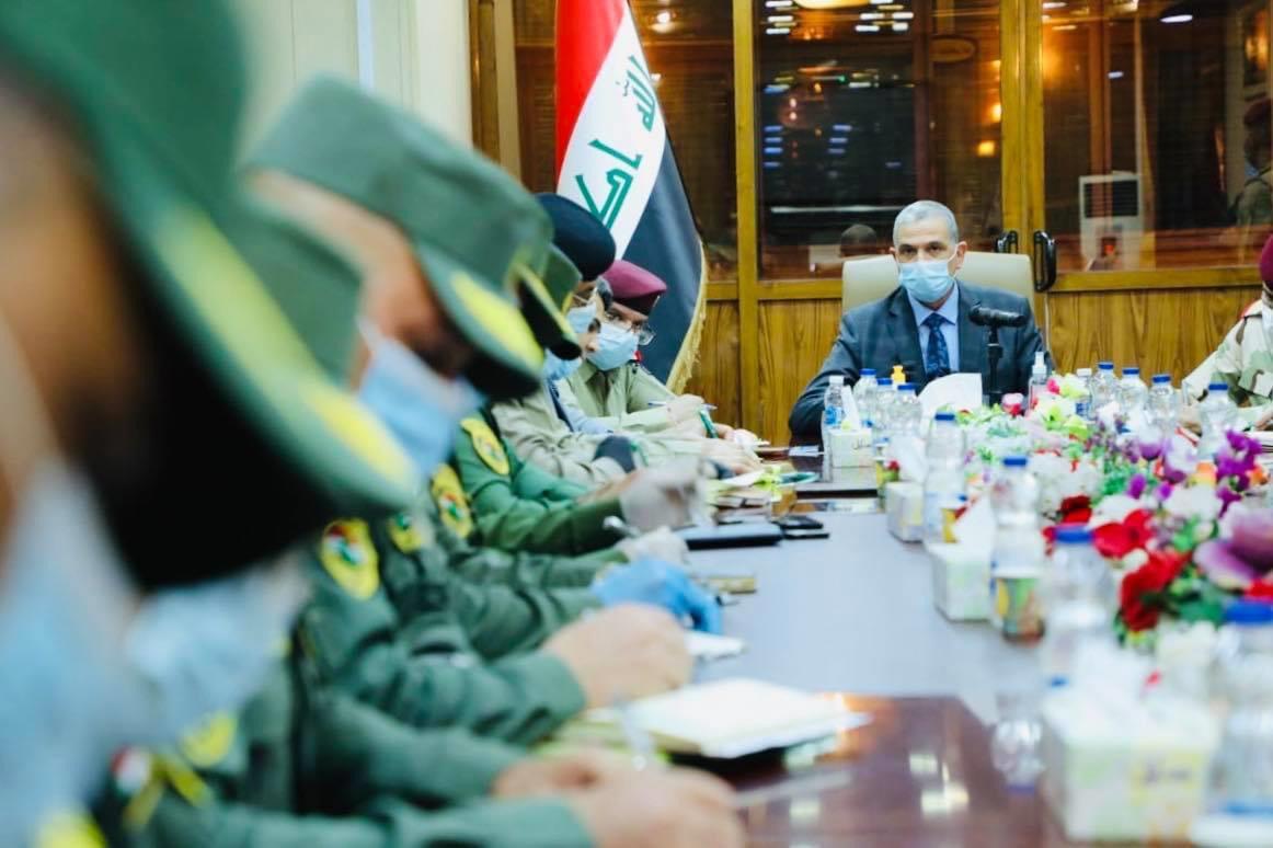 """الغانمي يجتمع بقادة الأمن لفرض """"هيبة الدولة"""" في بغداد"""