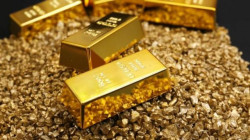 A drop in gold prices as investors reap profits