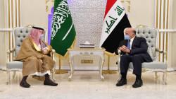 وزيرا الخارجية العراقي والسعودي يبحثان 3 ملفات مهمة منها ربط الكهرباء مع الخليج