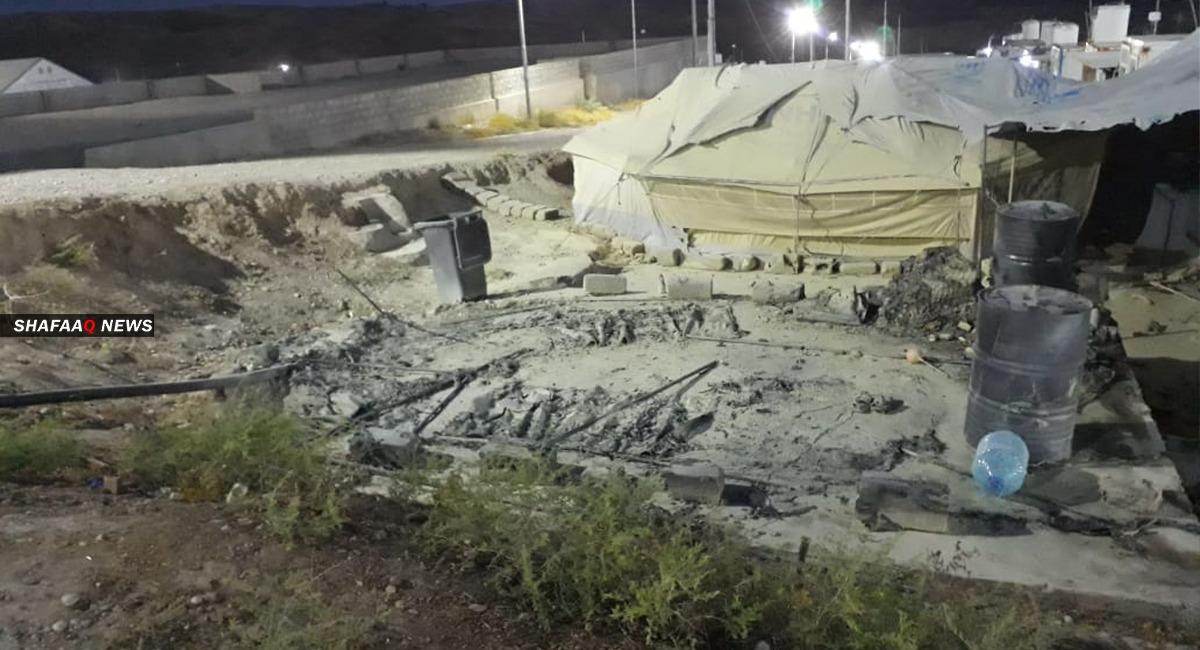 اندلاع حريق بمخيم للاجئين السوريين في دهوك