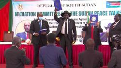 السودان يوقع اتفاق سلام تاريخياً مع جماعات متمردة