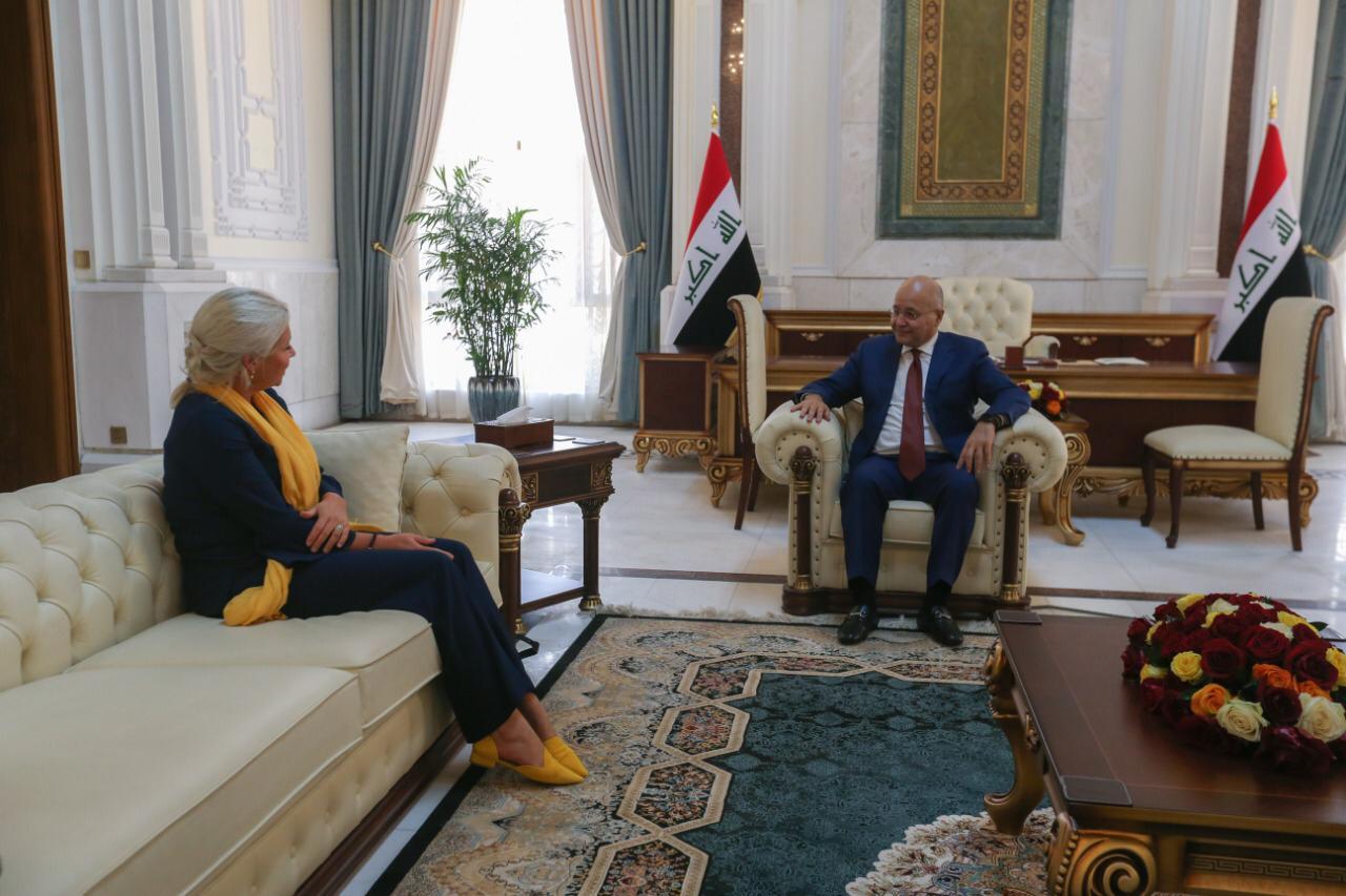 برهم صالح يبلغ الامم المتحدة امراً بشأن الانتخابات المبكرة في العراق