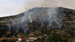 Turkish shelling forces the Christian villages' residents to leave their homes