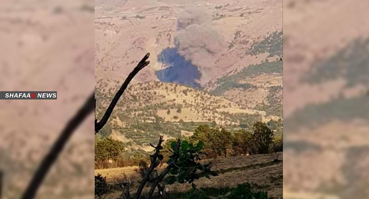 قصف جوي ومدفعي تركي يستهدف مناطق حدودية في إقليم كوردستان