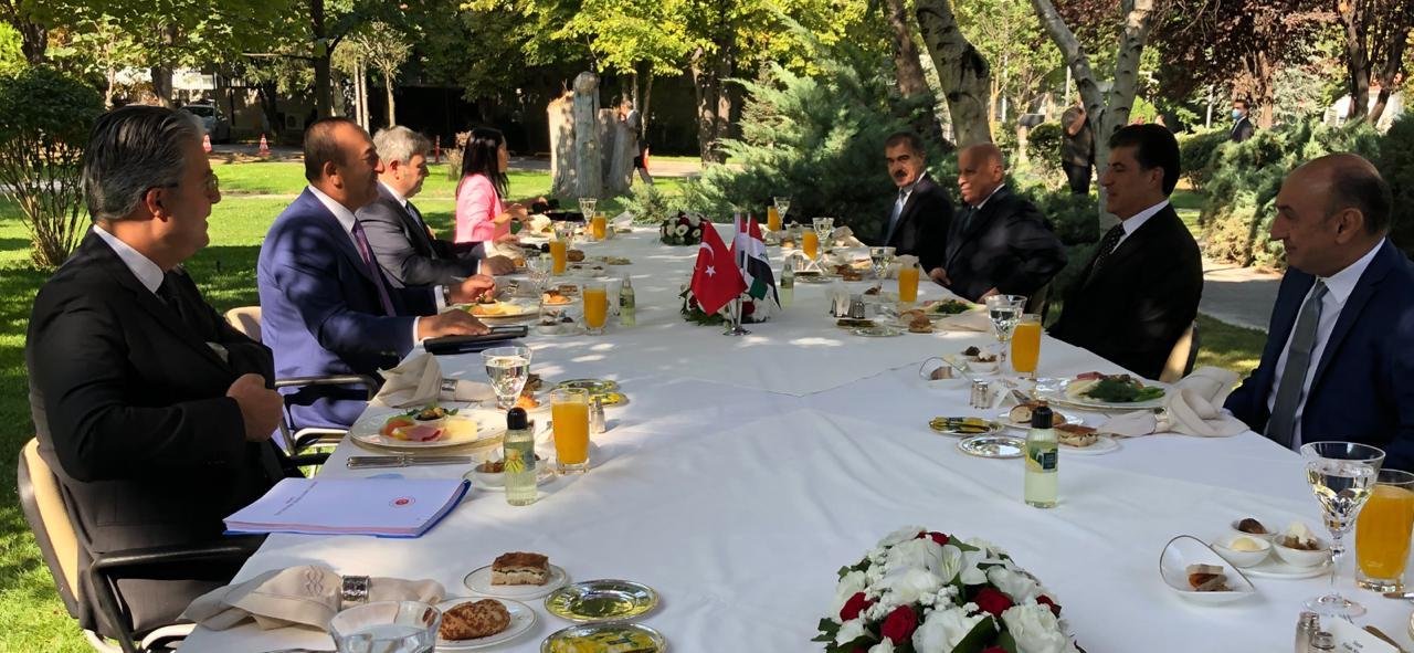 Çavuşoğlu: Ankara to help Erbil combating Covid-19