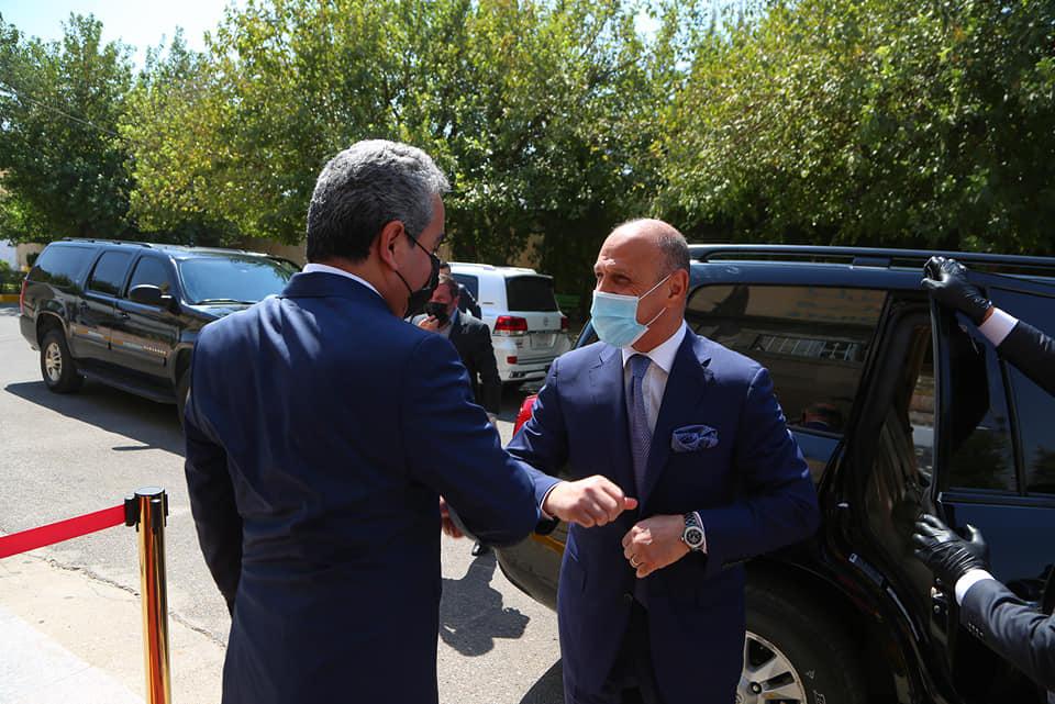 وصول وزير الشباب والرياضة الى اقليم كوردستان
