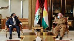 الحلبوسي يستهل زيارته لكوردستان بلقاء مسعود بارزاني ومناقشة عدة ملفات