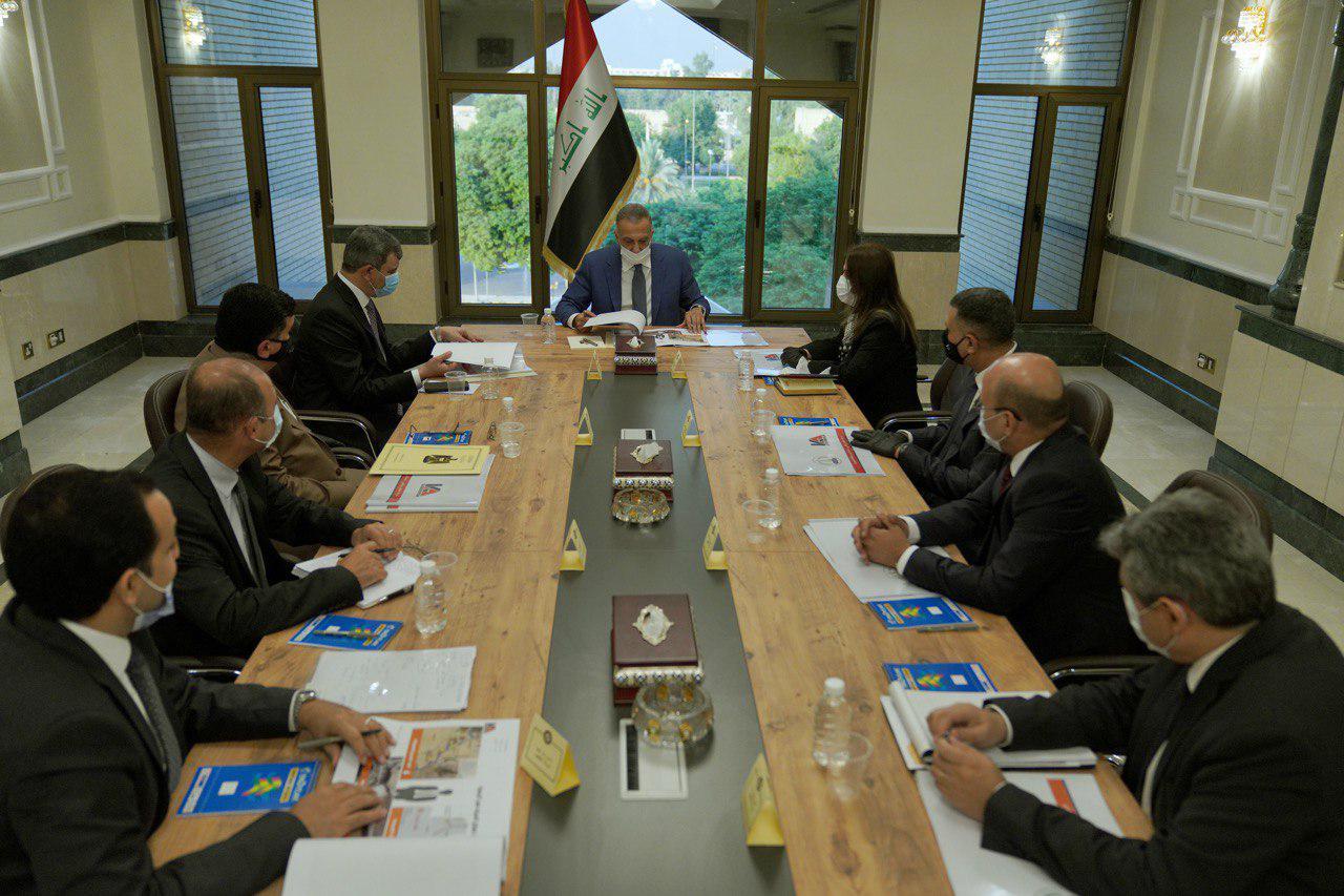 اجتماع حكومي بخصوص البصرة والكاظمي يصدر عدّة توجيهات
