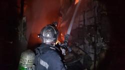 """اندلاع حريق """"مفتعل"""" في مركز للمساج ببغداد"""