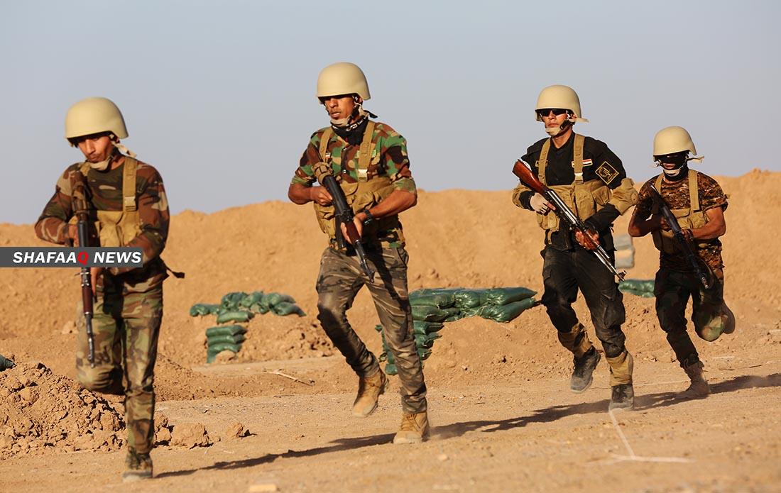 """مسنودة بطيران حربي ومدرعات.. قوات عراقية تتعقب """"كنزاً"""" لداعش"""