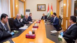 وفد رفيع من حكومة إقليم كوردستان يصل إلى بغداد
