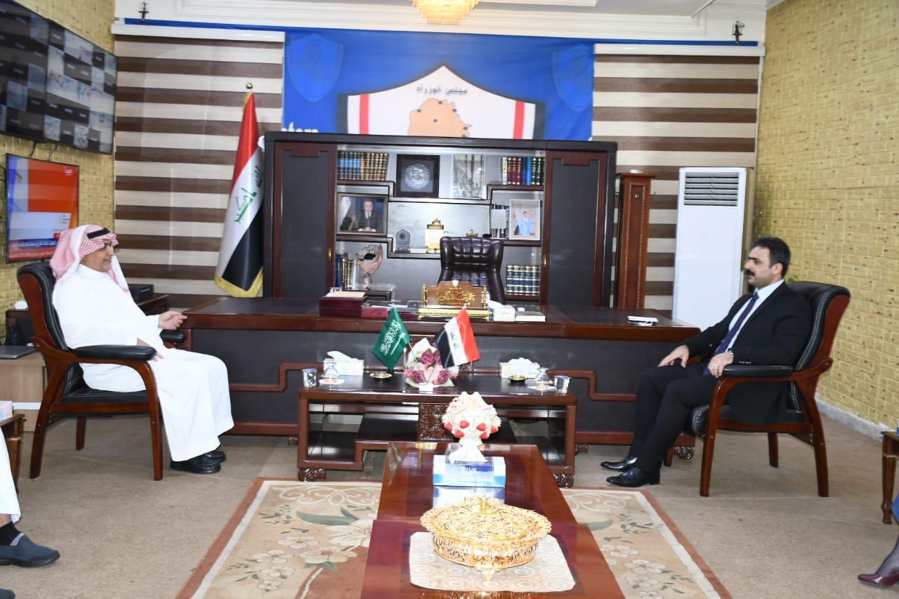 العراق والسعودية يبحثان افتتاح منفذ عرعر قريباً