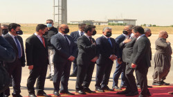 Al-Kadhimi arrives in Erbil