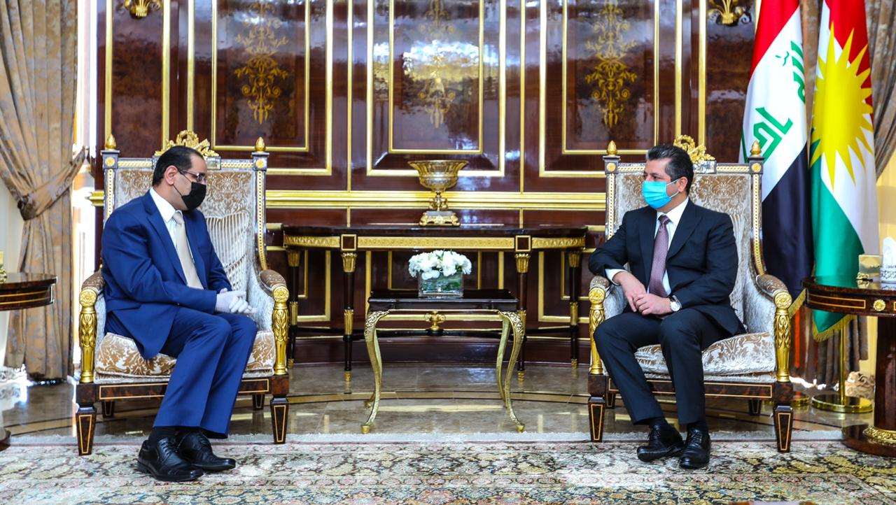 KRG president receives the Jordanian consul