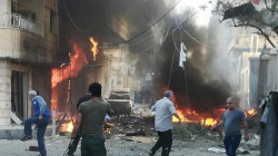 An explosion in Syria's Hasakah