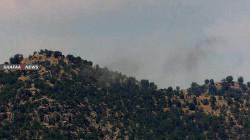 Turkish Aircrafts target PKK in Bradost