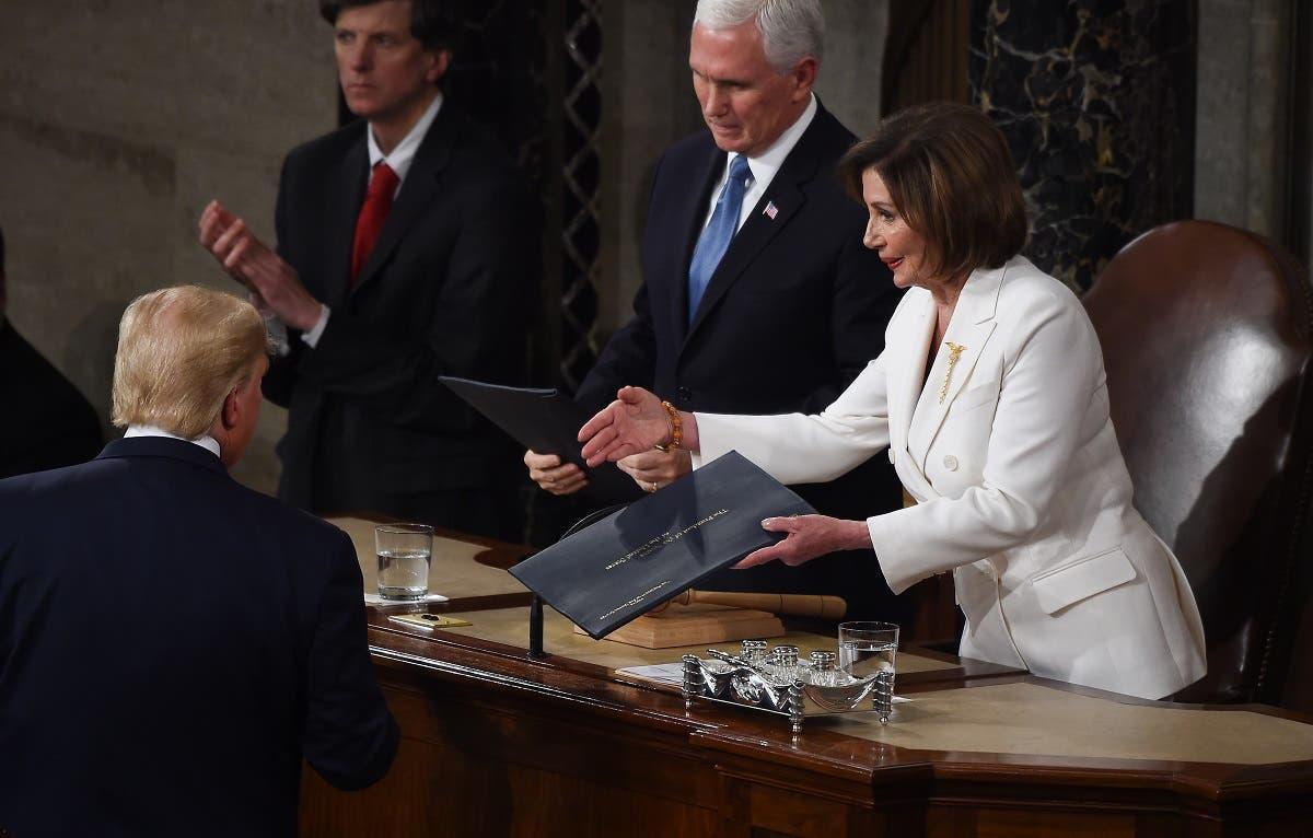 مجلس النواب الأمريكي يصوت لعزل ترامب وإحالته للمحاكمة أمام مجلس الشيوخ