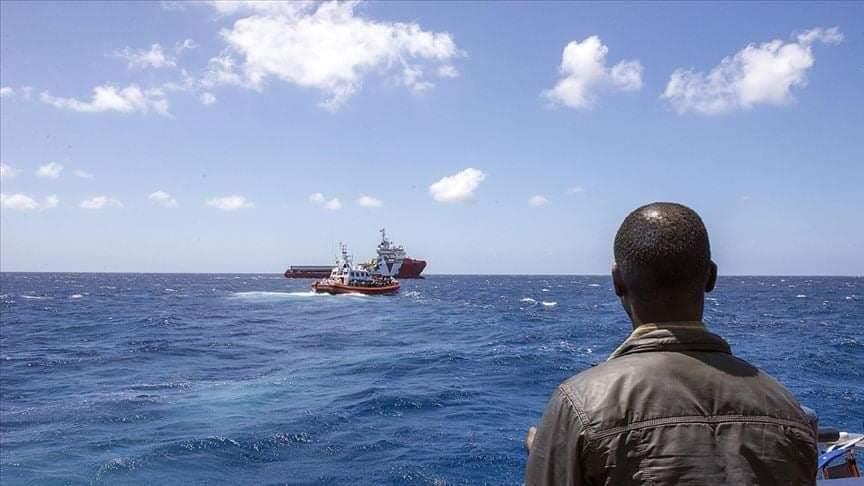 غرق قارب يقلّ 80 مهاجرا بينهم من اقليم كوردستان