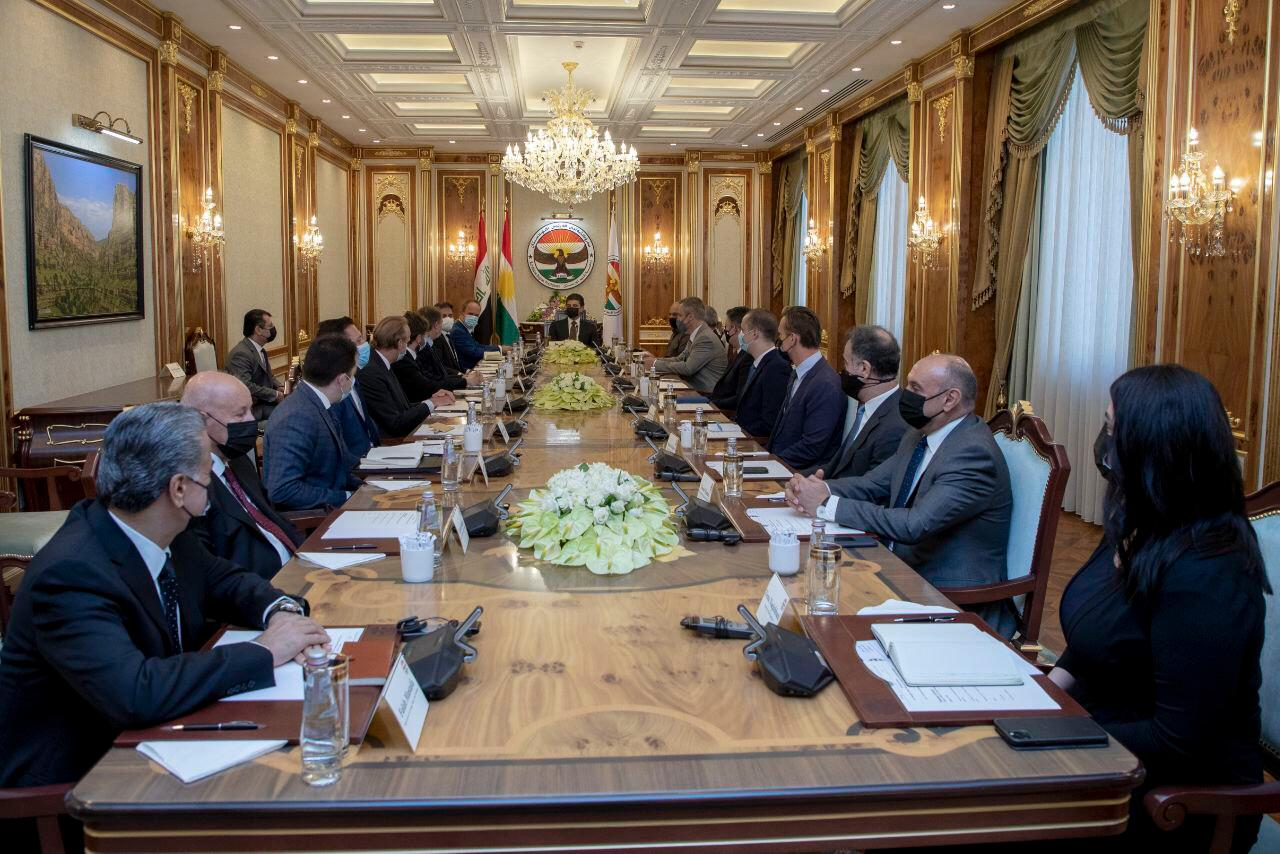 President of Kurdistan: we support Al-Kadhimi's government