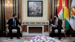 طالباني يبلغ بارزاني بالأساس المعتمد لحل الخلافات مع بغداد