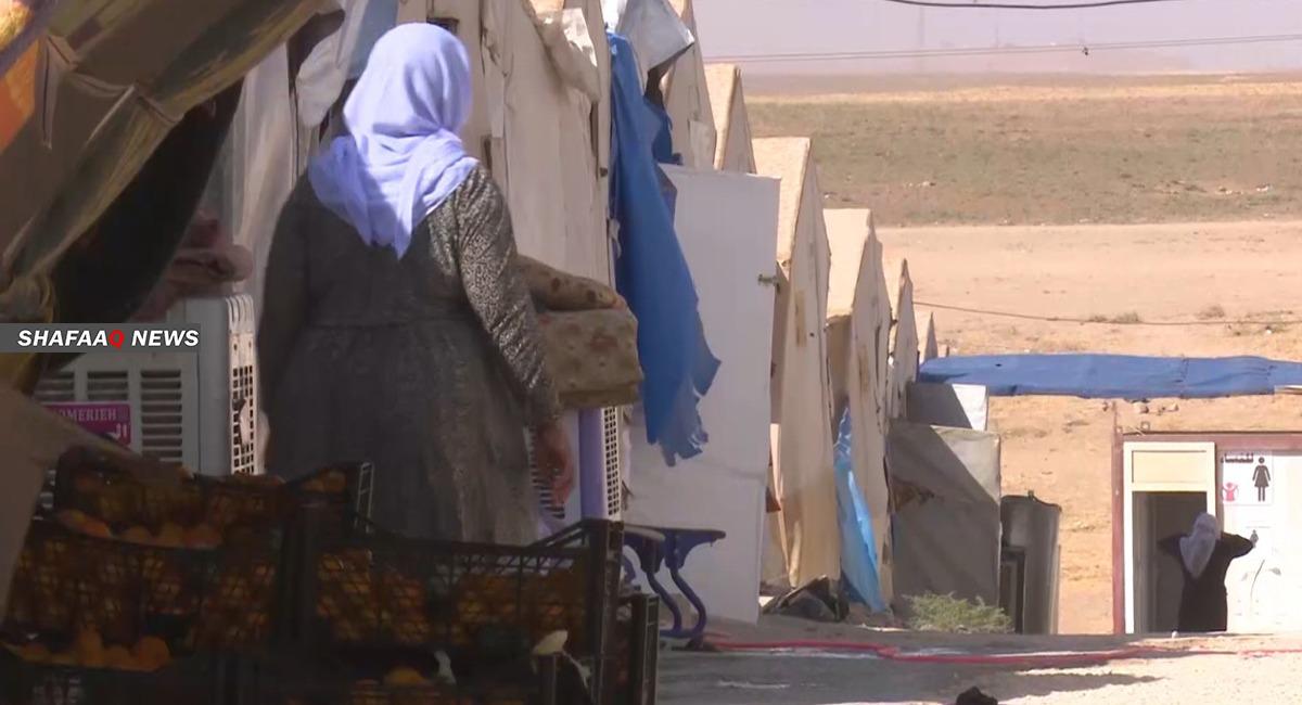بعد مقتل أفراد عائلتها.. امرأة إيزيدية تنتحر حرقاً بمخيم في دهوك