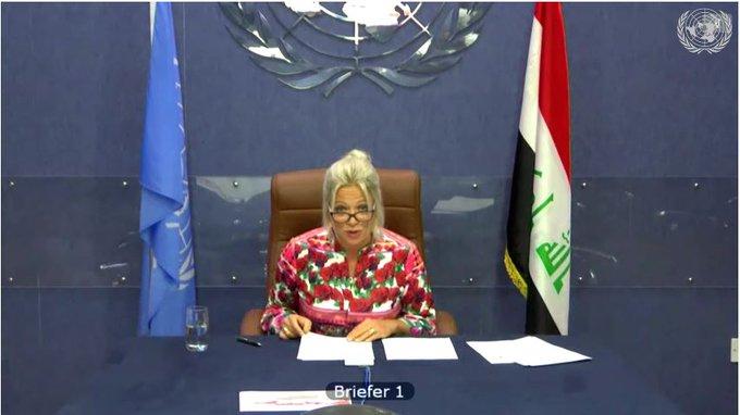 مبعوثة الأمم المتحدة في العراق تزور إيران
