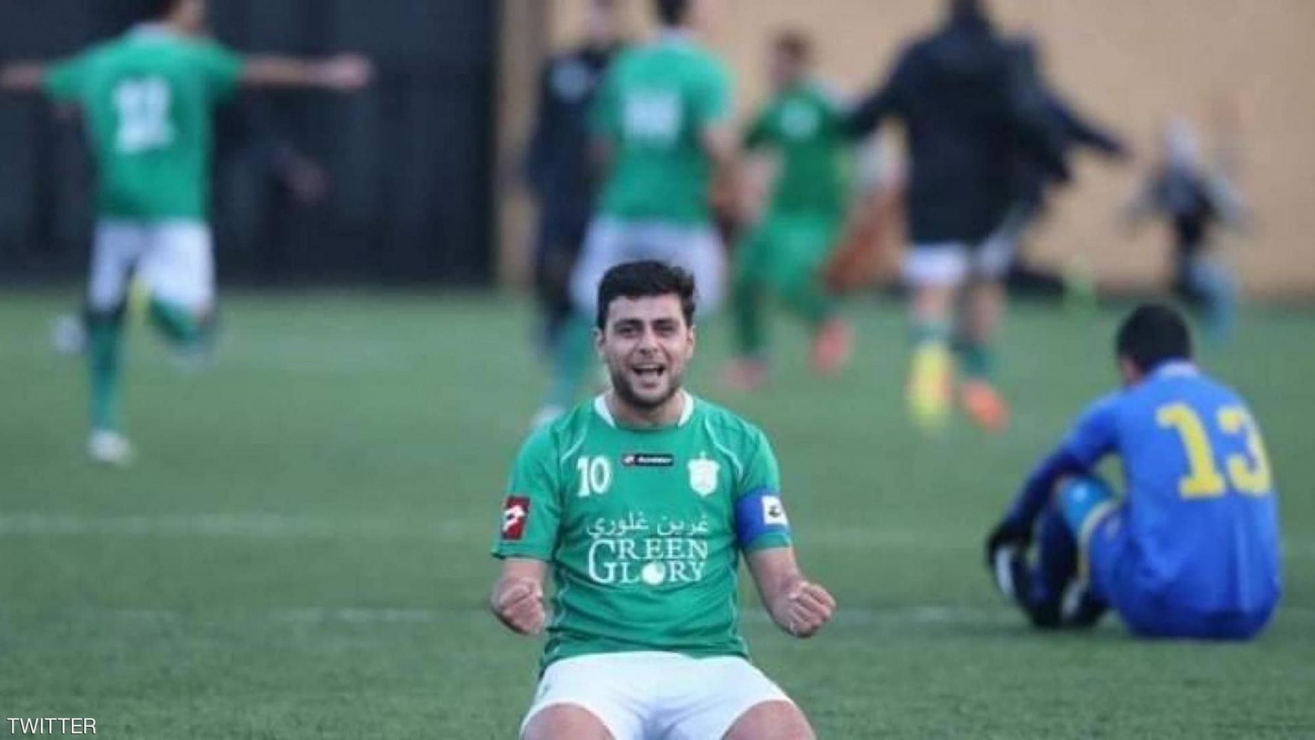 """""""رصاصة طائشة"""" تودي بحياة نجم الكرة اللبنانية"""
